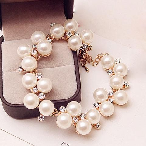 Pearl Vine Bracelet (With images) Wedding accessories