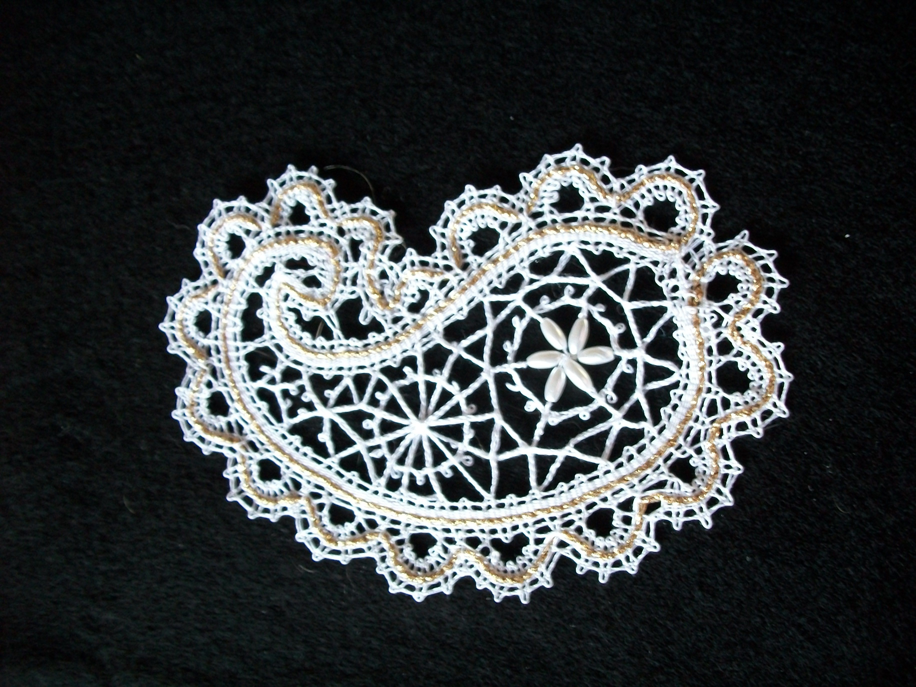 Russian paisley in bobbin lace lace pinterest bobbin lace russian paisley in bobbin lace bankloansurffo Images
