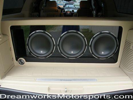 Jl Audio Custom Car Audio Car Audio Car Audio Systems Trunks