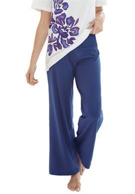 Plus Size Knit foldover lounge pants