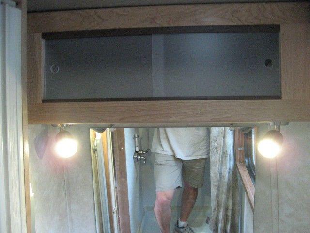 Plexiglass Slide Cabinet Doors In Bathkitchen Camping Cargo