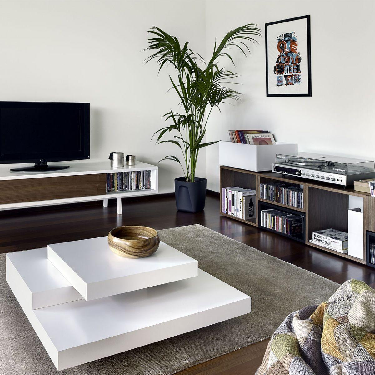 Tavolino Slate Display # Living Salon Bois Emplacement Tv