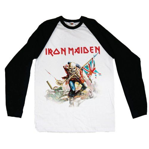 Original Sale Online Mens Book of Souls Raglan Baseball T-Shirt Rockoff Trade Exclusive Cheap Price Cheap Sale With Paypal Sale Prices D1Naoyc