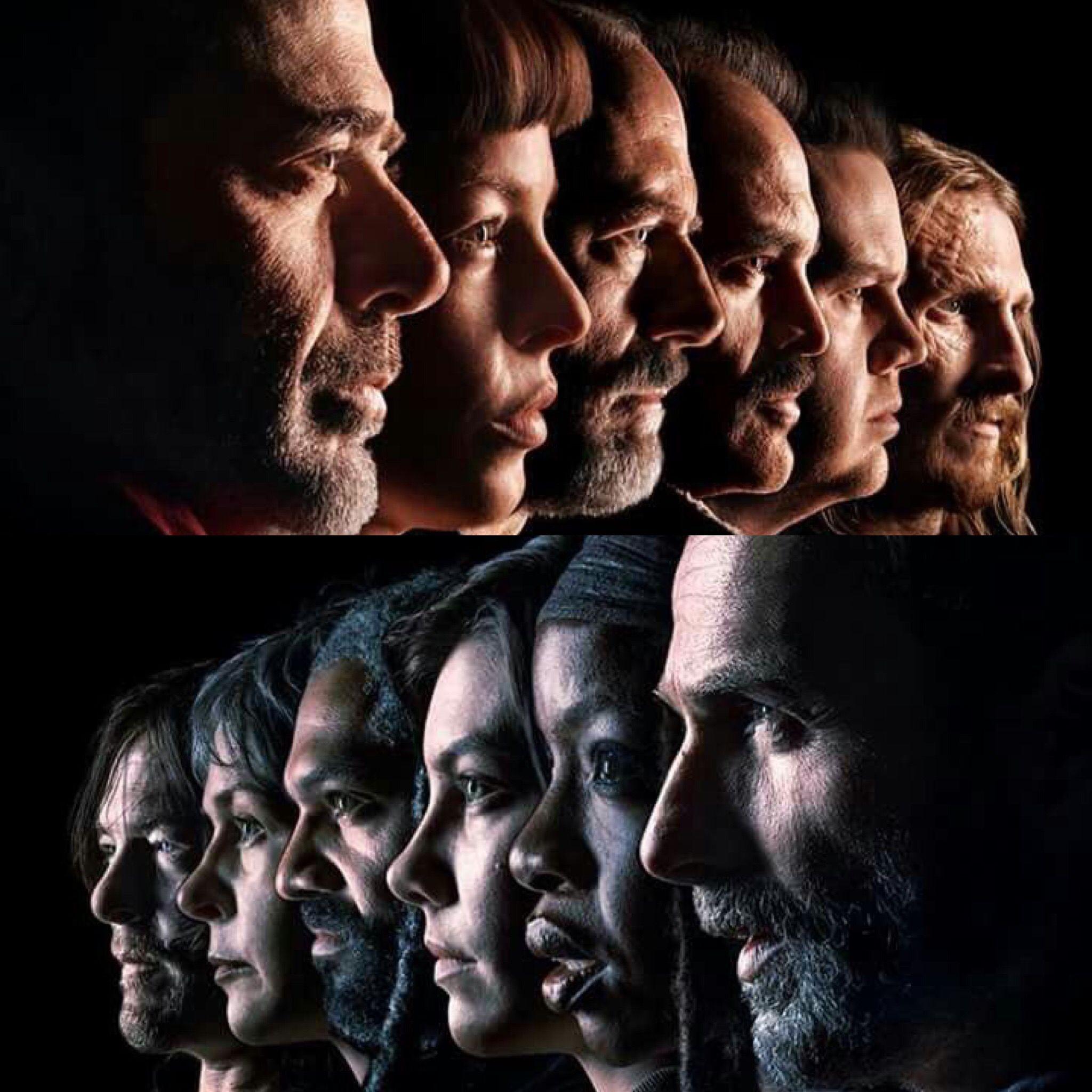Negan The Saviors Vs Rick Company The Walking Dead Tv