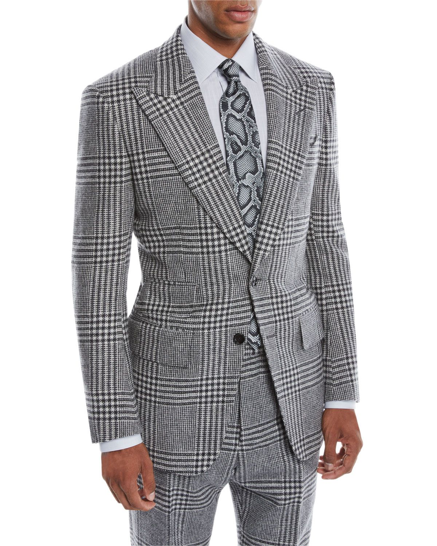 New Look Mens Pow Check Blazer