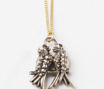 Vintage Birds Necklace