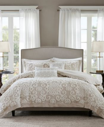 Harbor House Suzanna 3 Pc Full Queen Duvet Cover Set Bedding Taupe Bedding Taupe Comforter Comforter Sets