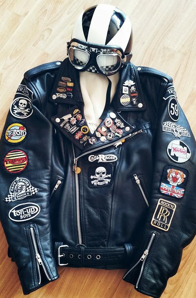 Rocker S Leather Jacket Denim Biker Jacket Rocker Outfit
