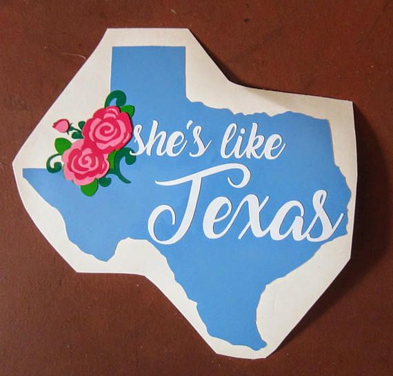Funny Texas Home Love Country Car Decal Vinyl Window Sticker free shipping