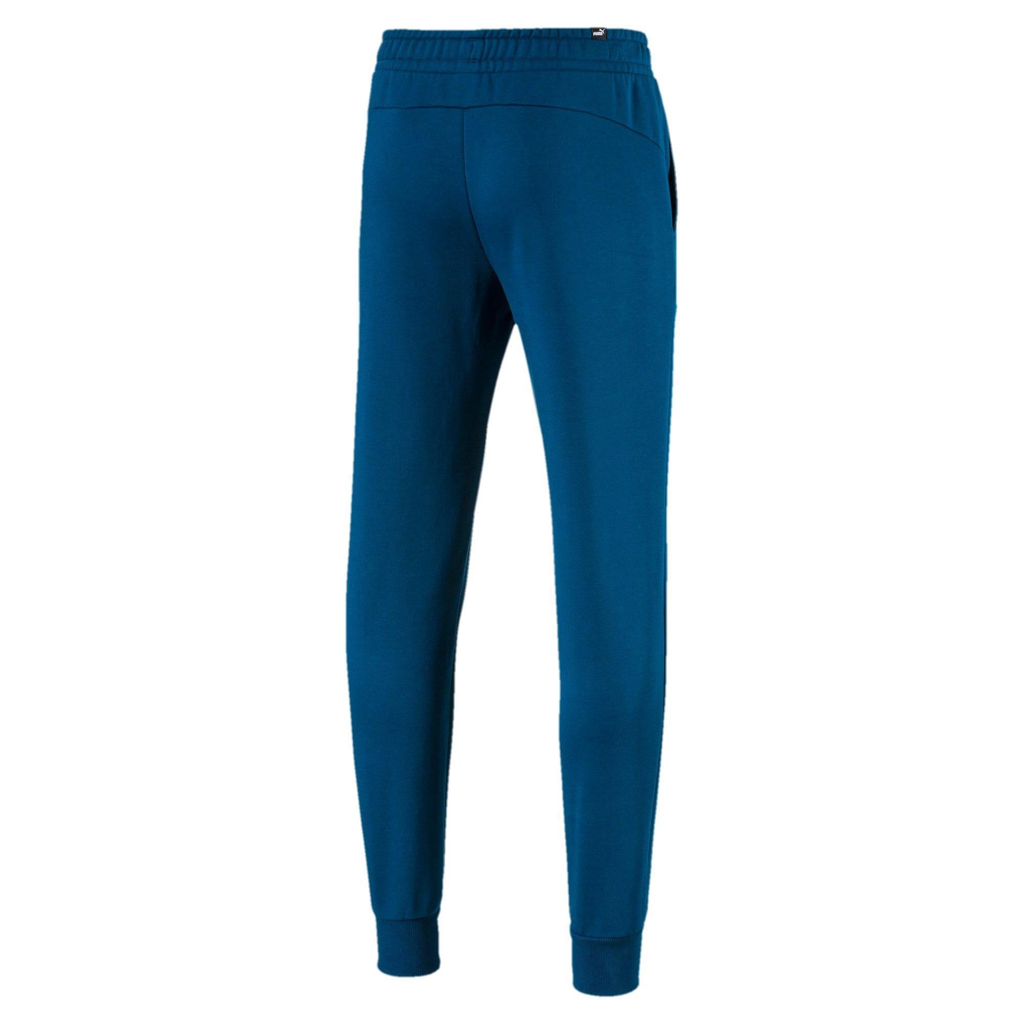 PUMA Essentials Fleece Men's Sweatpants in Gibraltar Sea size 2X Small #sweatpantsoutfit