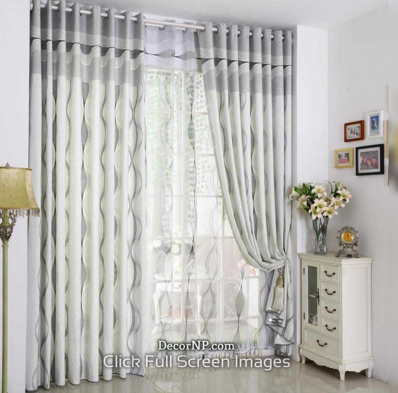 White Curtain Design 2019 Best White Curtain Models In 2020