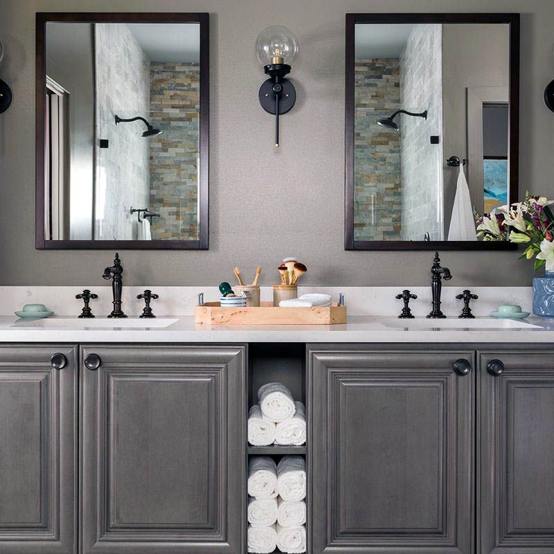 Gorgeous Master Bathroom Ideas On Pinterest Tips For 2019 Guest Bathroom Remodel Bathrooms Remodel Cottage Style Bathrooms