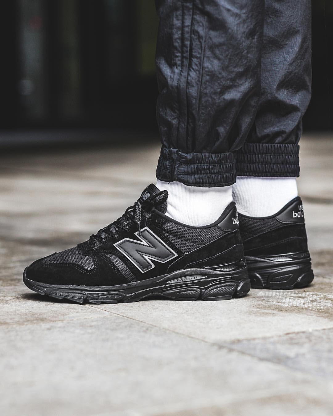6a277aca633c8 New Balance 770.9: Black | Sneakers: New Balance 770 | New balance ...