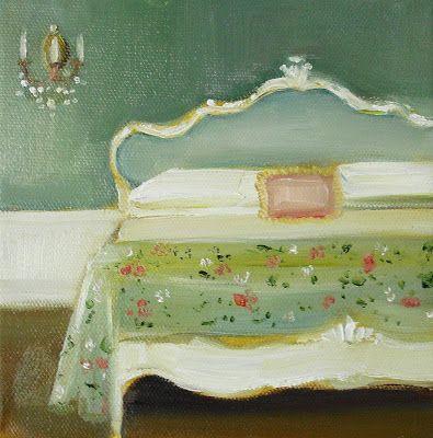 Janet Hill - Floral Bedspread