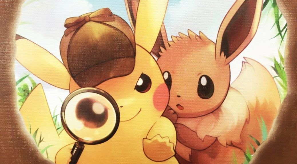 Detective Pikachu Eevee S Case Is An Ebook Prequel To The Game