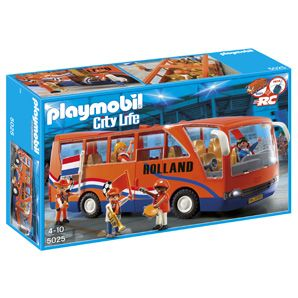 Kost nog €27 ook... PLAYMOBIL® Fan bus Holland 5025