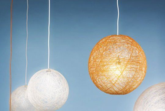 How To Make Your Own String Pendant Lamp