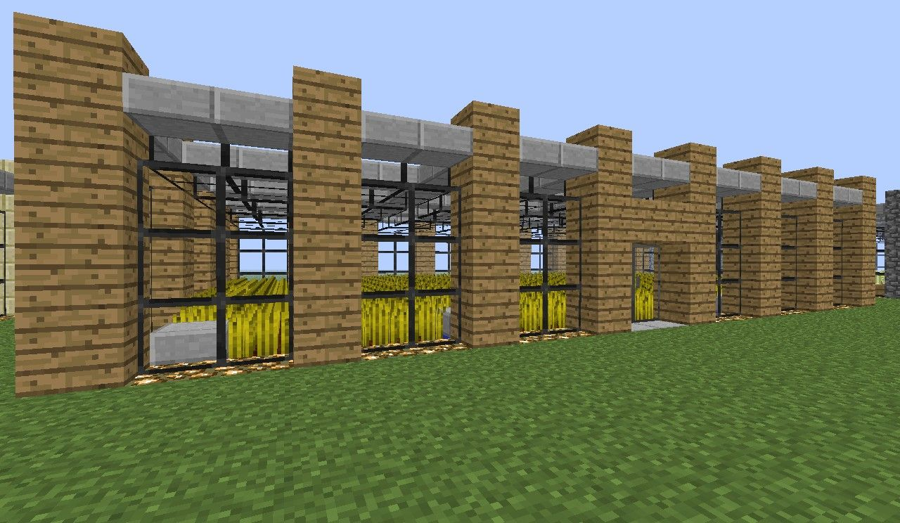 Minecraft Modern Farm Minecraft Project | Minecraft | Pinterest ...