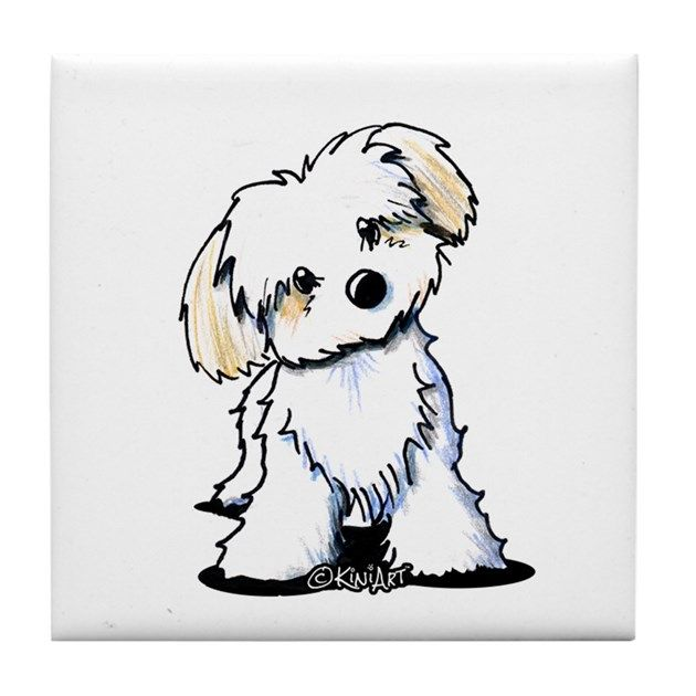 Featuring Havanese dog breed art by Contemporary PUP Artist, KiniArt (aka, Kim Niles). © KiniArt™ - All Rights Reserved.