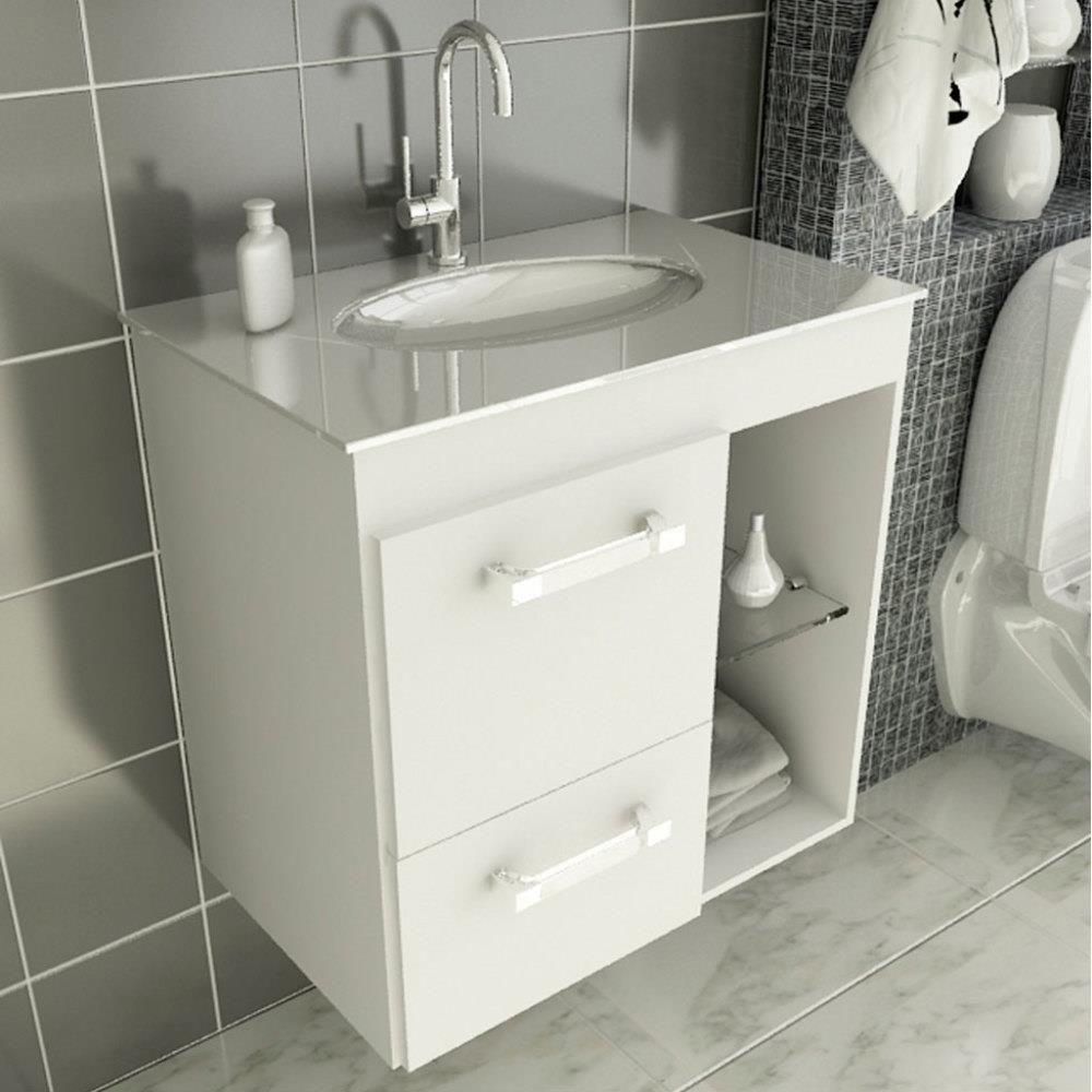 Gabinete Linea 12 60 Cm 1 Porta 1 Gaveta Gabinete Banheiro Pias De Banheiro Gabinete De Banheiro Pequeno