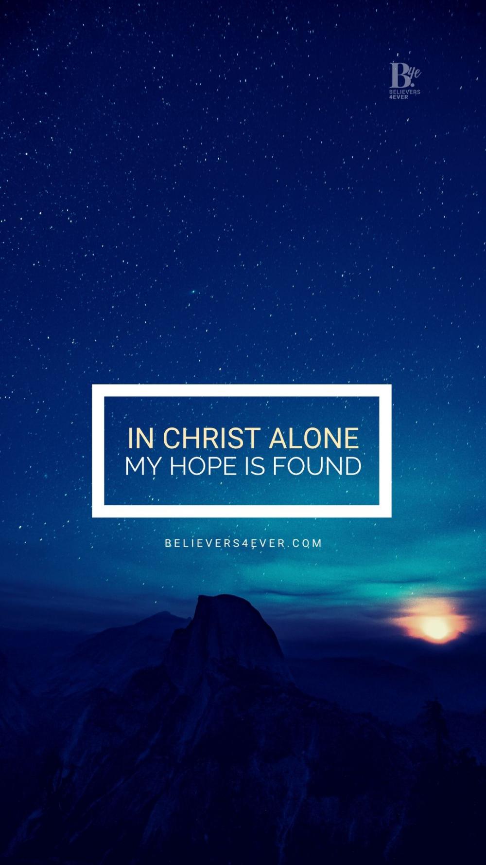 In Christ alone in 2020 In christ alone, Mobile