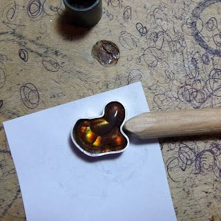 Unique bezel settings - Purified: Fire Agate Ring Build >>>http:...
