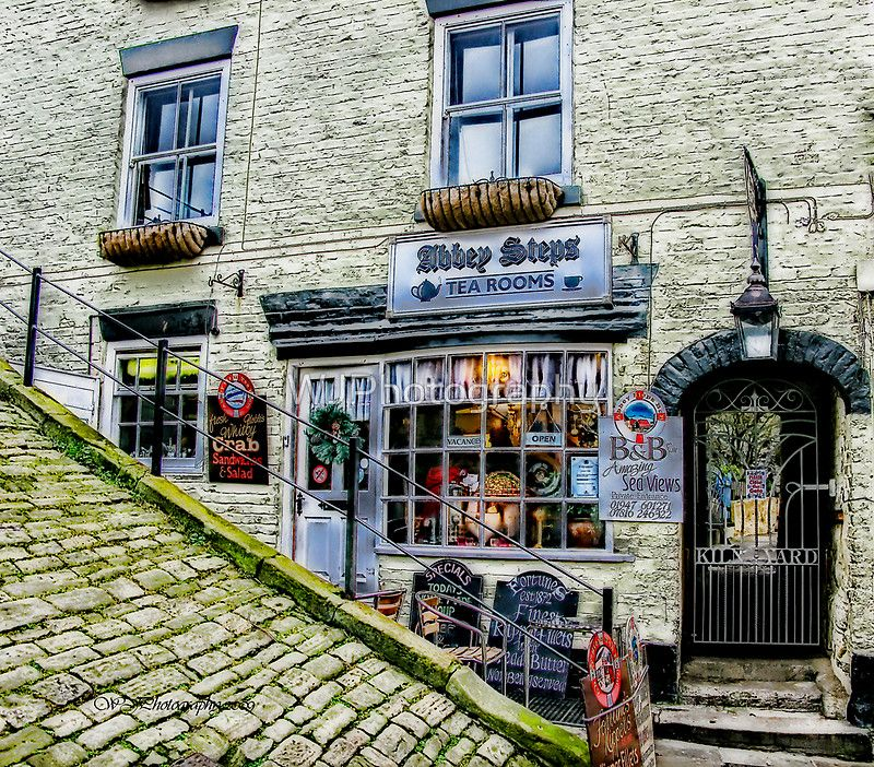Tea Room In Whitby North Yorkshire