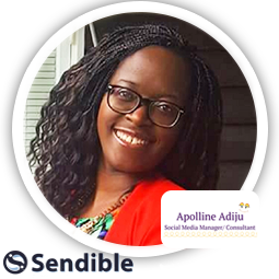 Social Media Interview Apolline At The Apollineadiju Marketing Agency