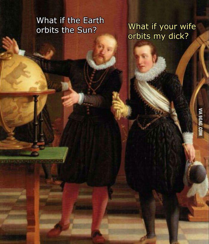 This medieval meme always cracks me up :D