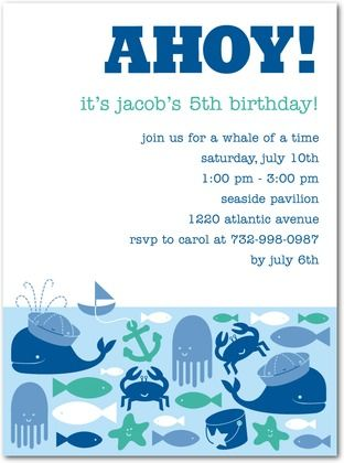 Under the sea birthday party theme invitations this is from tiny under the sea birthday party theme invitations this is from tiny prints but it filmwisefo Image collections