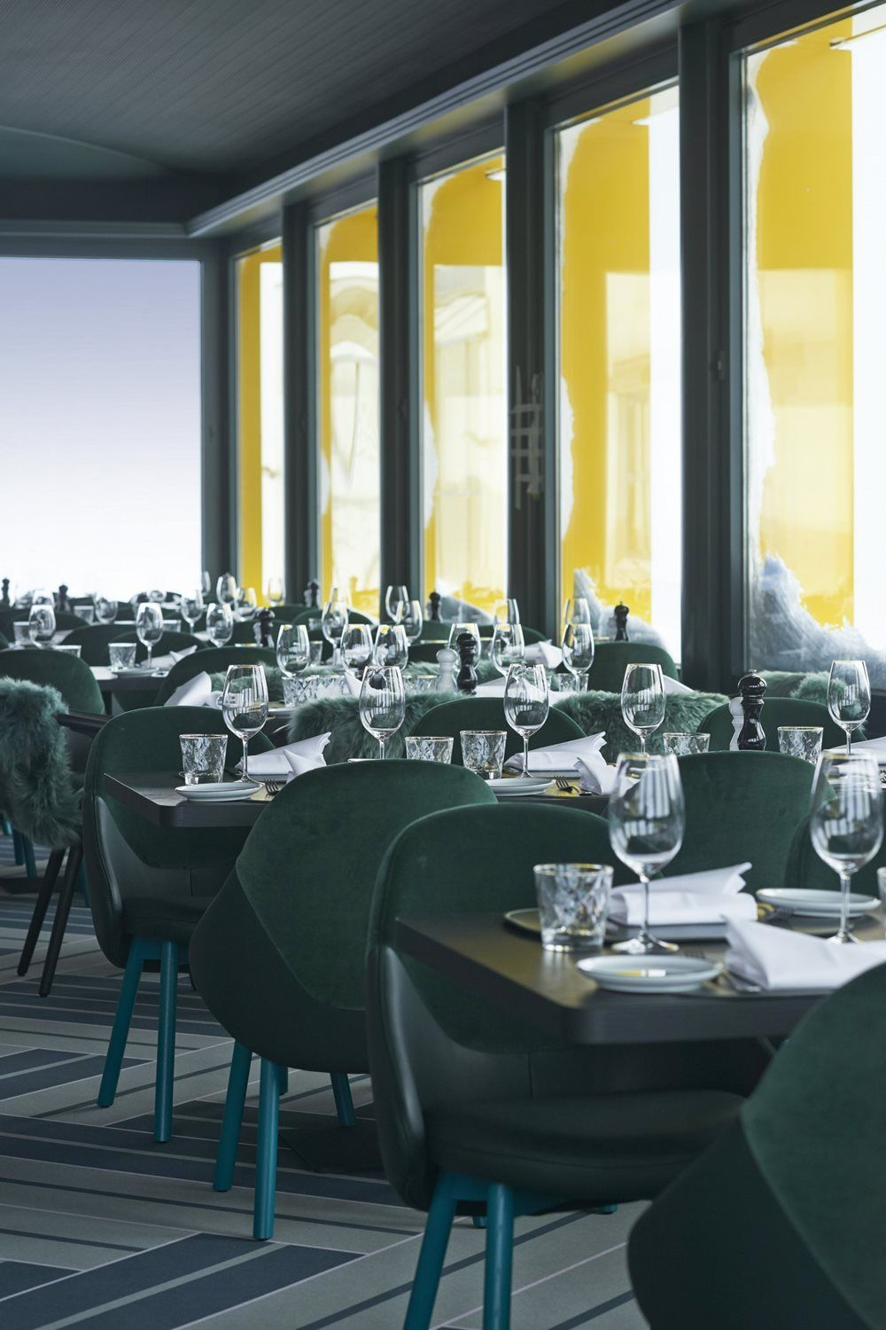 White Marmot Restaurant & Bar - st. Moritz, Switzerland