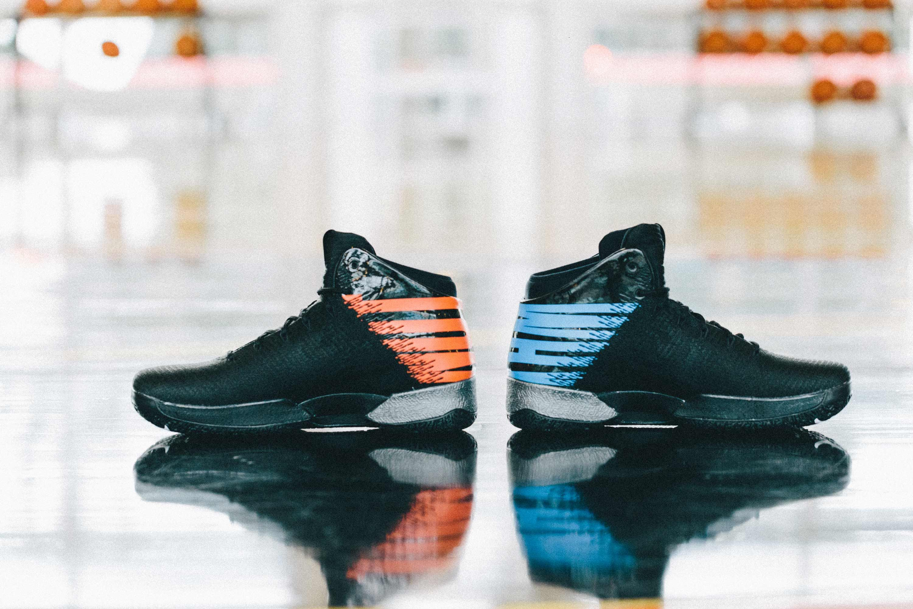 4368a80db32f Here s a look at Russell Westbrook s Air Jordan Why Not PE that he wore  against the Portland Trailblazers.