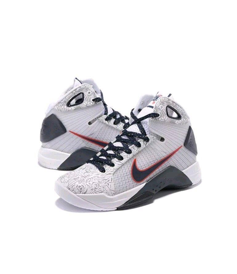 9bc35a01d30 Nike Hyperdunk OG White Red Obsidian 863301-146 Men Size 11.5 USA ...