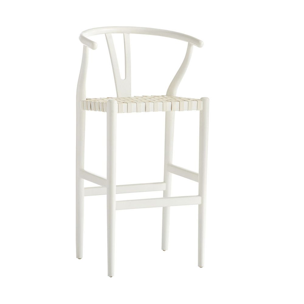 Woven Danish Bar Stool Wisteria With Images Bar Stools