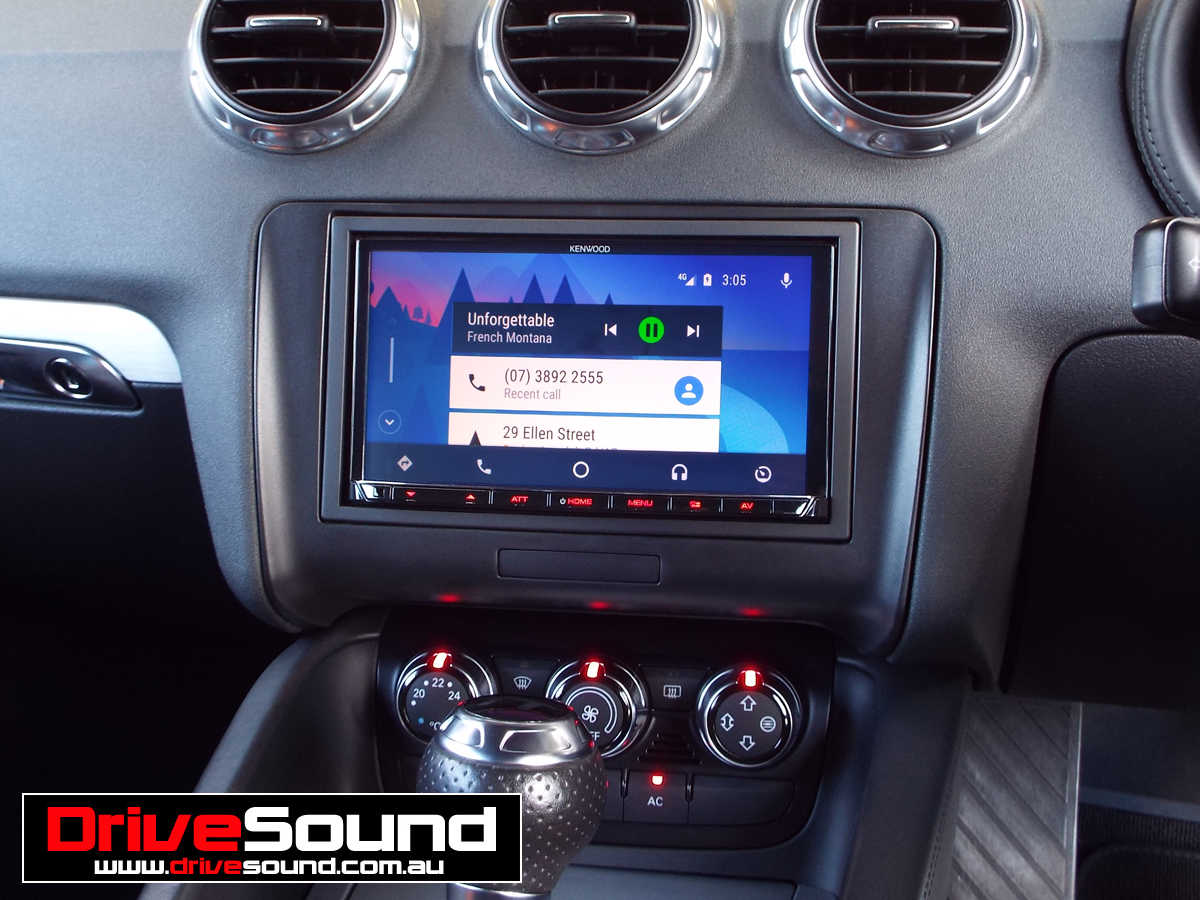 Audi Tt With Android Auto Installed By Drivesound Home Theater
