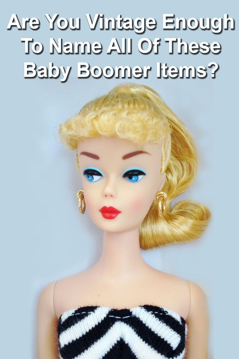 Quiz Are You Vintage Enough To Name All Of These Baby Boomer Items