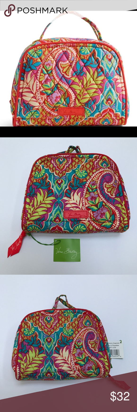 Paisley in Paradise Travel Jewelry Organizer Paisley in Paradise