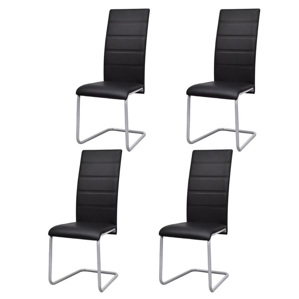 41++ Faux leather dining chairs set of 4 Tips