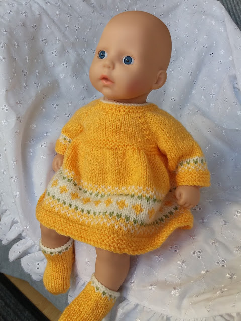 Baby Annabell Festive Dress | Knitting dolls clothes ...