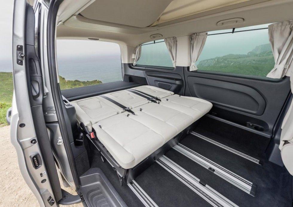 Mercedes Benz Marco Polo Activity 220 Cdi Interior Crystal Grey Santiago Mercedes Benz Mercedes Mercedes Camper