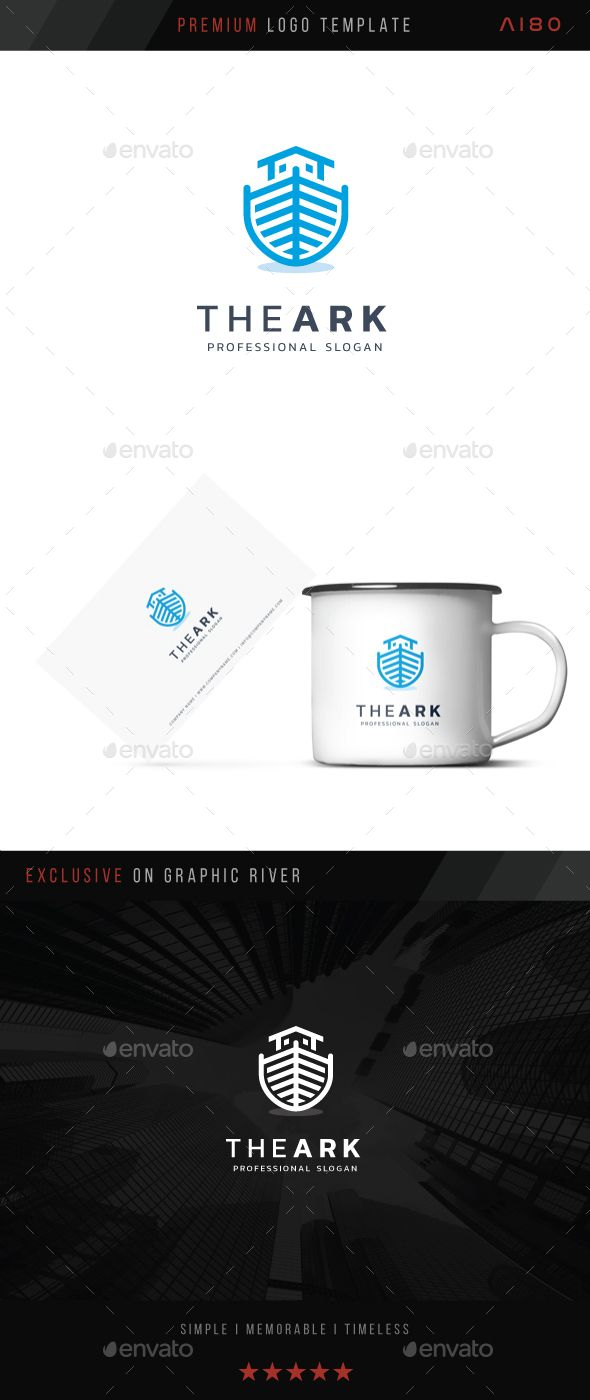 The Ark Logo Presentation Templates Pinterest Symbol Logo