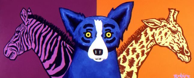 IT'S A WILD WILD LIFE - 2000 - Signed by George Rodrigue