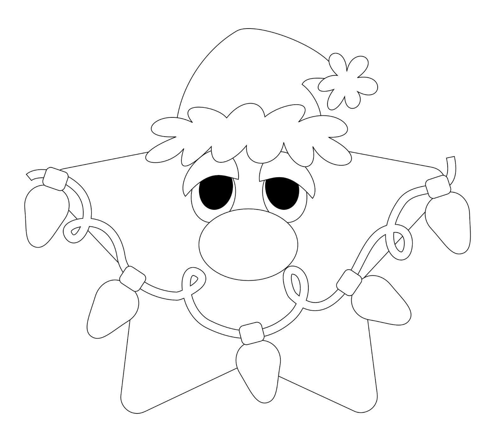 Little Scraps of Heaven Designs: FREE Christmas Star Digi Stamp
