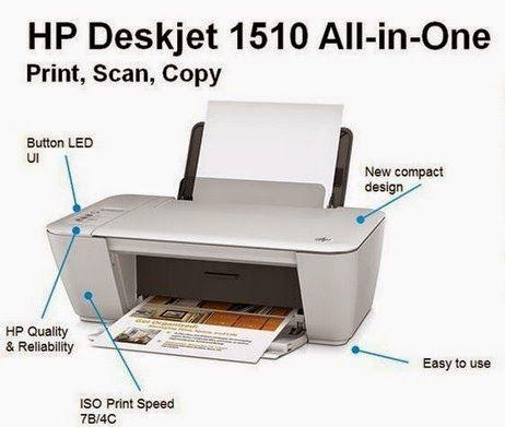 Hp Deskjet 1510 Printer Drivers