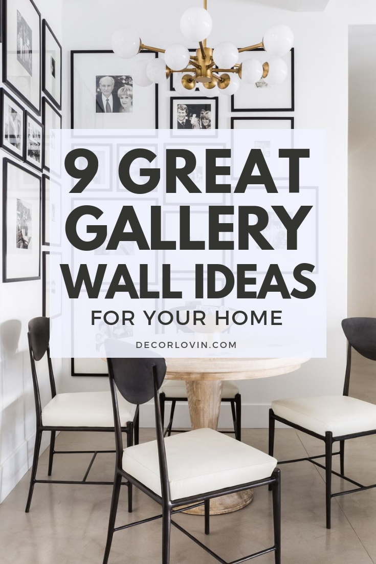 Gallery walls are  perfect solution for all of these awkward spaces with also stunning wall ideas to try best decor lovin rh pinterest