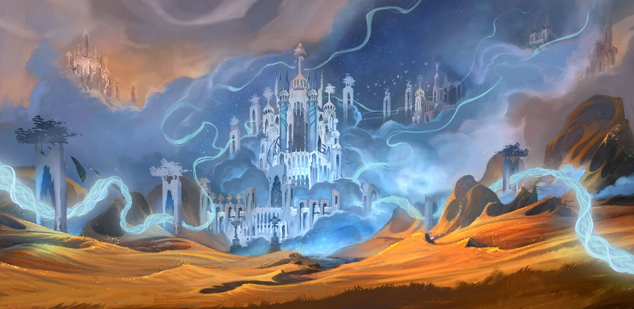 Bastion Landscape Art From World Of Warcraft Shadowlands Art Artwork Gaming Vid World Of Warcraft Wallpaper World Of Warcraft World Of Warcraft Characters