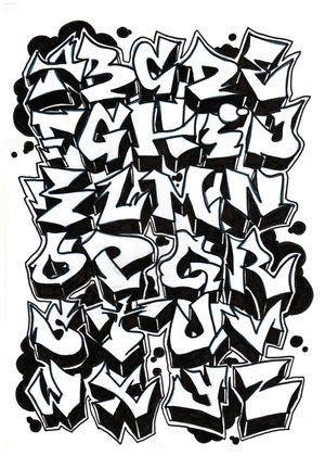 Design Of Letters Graffiti Letter Designs