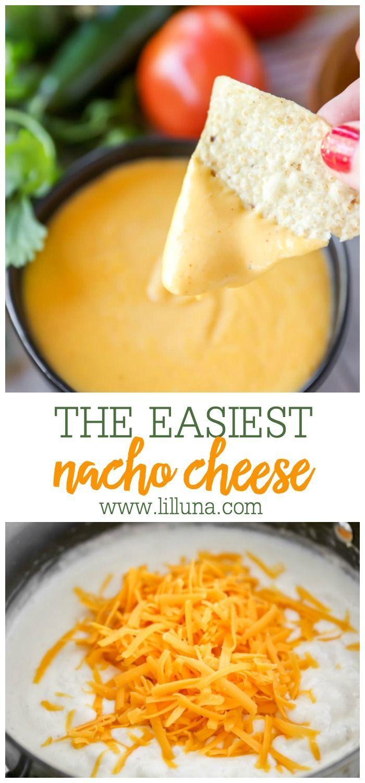 Homemade Nacho Cheese Sauce | Lil' Luna