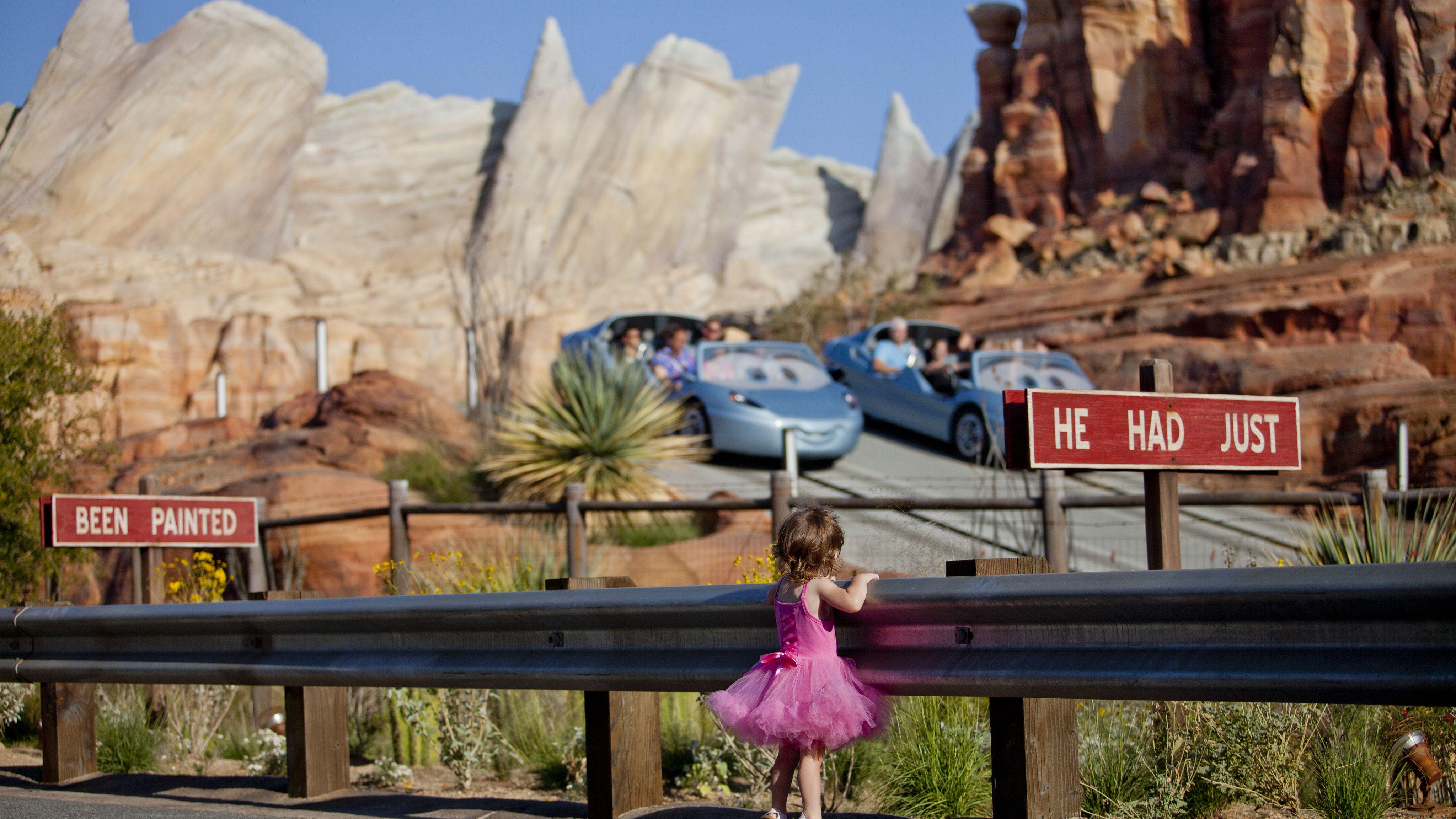 Disney California Adventure Ride And Attraction Guide