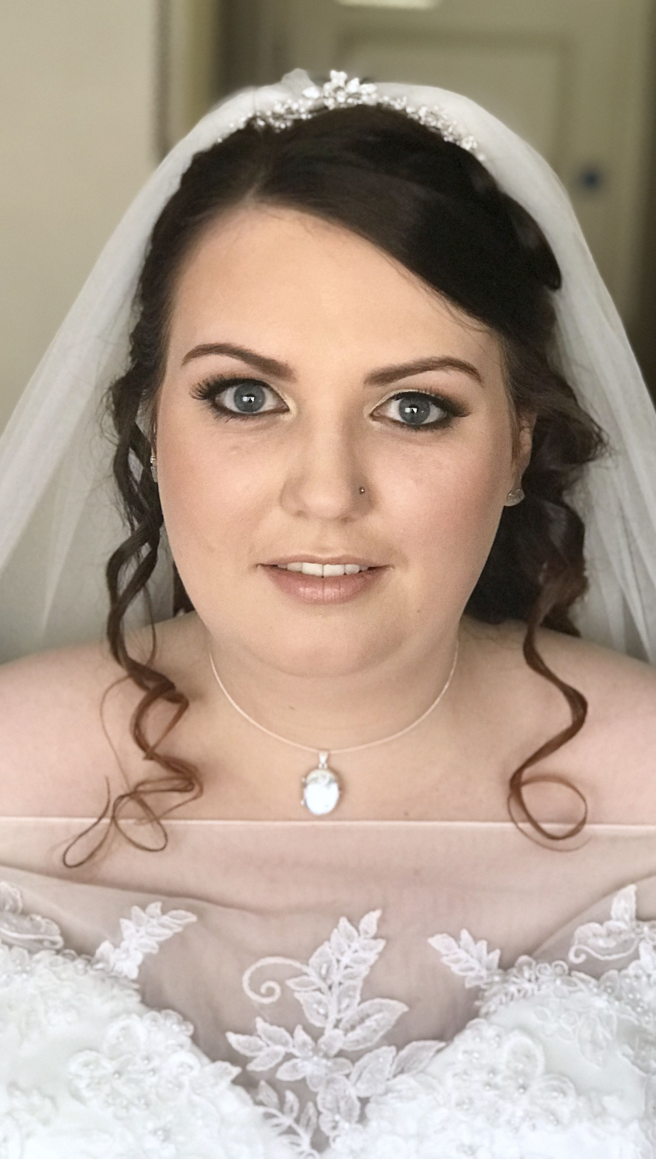 bridal hair and make up artist. congratulations to janine